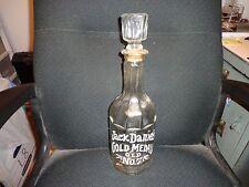 Jack Daniels Gold Medal Old No 7 Large Vintage Decanter