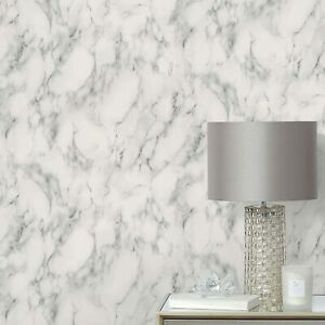 New Contemporary Design Grey Marble Wallpaper Add Character to Any Room M-21