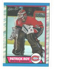 1989-90 O-Pee-Chee OPC Hockey #17 Patrick Roy Montreal Canadiens HOF NM-MT