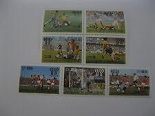 Sao Tome and Principe 1978 World Cup football MICHEL No.541-547