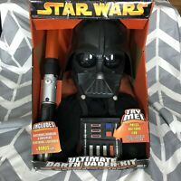 Star Wars Ultimate Darth Vader Kit With Lightsaber Voice Changing Helmet