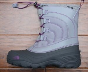 The North Face Girl's Alpenglow IV Lace Insulated Waterproof Winter Boots 7
