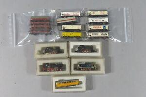 H 81048 Sammlung interessanter Märklin Miniclub Eisenbahnen