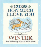 Preschool Bedtime Story Book - GUESS HOW MUCH I LOVE YOU IN THE WINTER - NEW