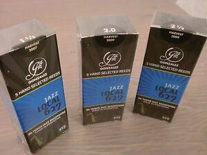 TOP QUALITY GONZALEZ JAZZ LOCAL 627 TENOR SAX REEDS - ONLY £17.75 BOX OF 5