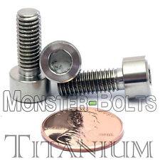 6mm x 1.0 x 16mm - Titanium Socket Head Cap Screw - DIN 912 Grade 5 Ti M6 Hex