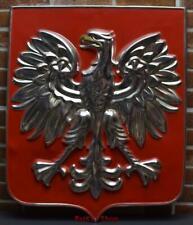 Vintage Polish Communism PZPR Metal Enamel Sign /4688