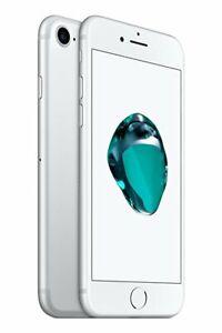 NEW SILVER VERIZON GSM/CDMA UNLOCKED 32GB APPLE IPHONE 7 PHONE JX99