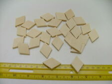 10 CELLO OR GUITAR REPAIR CLEATS, PRE-CUT DIAMOND, SPRUCE, 33X23X4MM,  FROM UK!