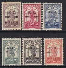 1933 Portugal - Yvert 559/564 - MH - Nuno Alvarez - Valor 35,00€ - Manchitas