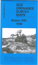 DETAILED ORDNANCE SURVEY MAP BOLTON (N.E) 1908 WITH FREE UK P&P