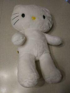 Build A Bear Hello Kitty Plush 17in White BABW