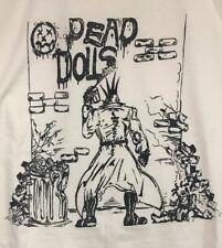 Dead Dolls Punk Rock Horror Spike Mohawk Goth Gore Glam Straight Edge XL T-shirt