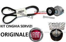 KIT CINGHIA SERVIZI COMPLETO ORIGINALE FIAT BRAVO II (198) 1.6 / 2.0 MULTIJET