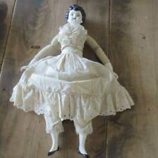 """Made in Germany Padded Bustier China Doll 15"""" Original Clothes"""