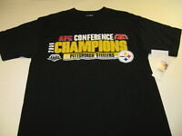 Pittsburgh Steelers 2008 AFC Conference Champions Super Bowl T-Shirt New NWT MED