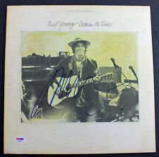 Neil Young Authentic Signed 'Comes A Time' Album Cover PSA/DNA #AB81548