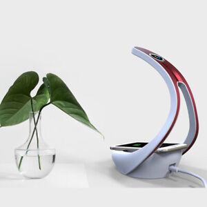 USB LED Desk Table Lamp Bluetooth Speaker Wireless Phone Charging Touch Light