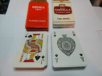 2 decks of cigar playing cards ,Castella and Doncella