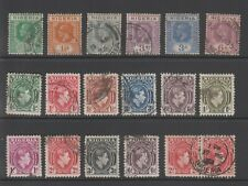 NIGERIA - 18 used stamps (823)