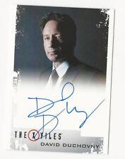 David Duchovny as Fox Mulder The X Files Season 10 & 11 Autograph Card Auto