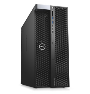DELL PRECISION 7820 T7820 Barebone Workstation Tower w/ 2 heatsinks & CPU riser