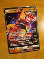 NM Pokemon BUZZWOLE GX Card Black Star PROMO Set SM69 Collection Box Sun Moon