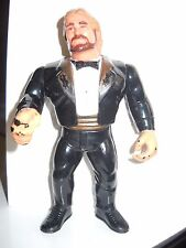 MILLION DOLLAR MAN (BLACK TUX) HASBRO 1990 Series 1 wwf