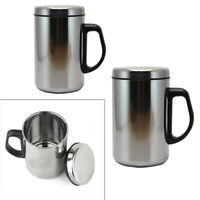 Stainless Steel Insulated Thermal Sport Cup Water Bottle Drink Travel Coffee Mug