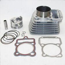 new 65.5mm Cylinder&Piston Set&Gasket Top End Kit All Sets For Honda CG200 200CC
