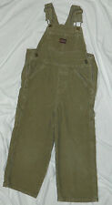 Infants Boys Old Navy Brand Brown Corduroy Overalls size 4T / 24x16