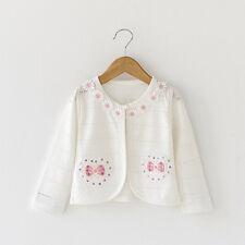 Baby Girls Bolero Shrug Bowknot Toddler Cardigan Jackets 12 Months to 3 Years