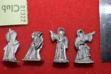 Lord of the Rings Wraiths Ring Wraiths 4 Metal Figures LoTR OOP Undead Fantasy