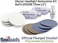 Flexipads Glacier Car Headlight Tail Light Restoration Polishing Kit Refill