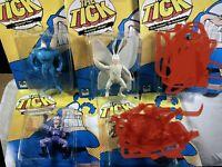 "THE TICK Series TICK ARTHUR SEWER URCHIN MAID & CHAM + 6"" Bandai Lot NIP"