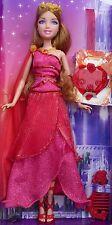 Barbie Mattel Puppe in rosa rotes Ballkleid Diamant am Band Mädchen Prinzessin