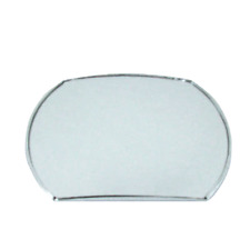 """Fits Large Convex Blind Spot Mirror For Cars, Trucks, Boats w/ Adhesive 4""""h x 5-"""