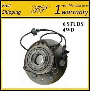 FRONT Wheel Hub Bearing Assembly For CHEVY AVALANCHE/SILVERADO 1500 4WD 07-13