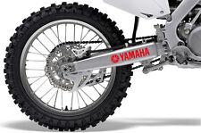 2x Logotipo De Yamaha Swingarm Gráfico de vinilo autoadhesivo con fundido estilo OEM