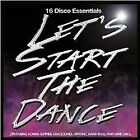 """LET'S START THE DANCE 16 Disco Essentials CD Various Artists with 12"""" Mixes"""