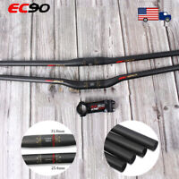 EC90 MTB Bike Handlebar/Stem Carbon/AL 25.4/31.8mm Riser/Flat Bar 6/17° Stem