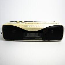 Retro Sharp 80s Boombox Stereo Radio/Cassette Recorder Player QT-250 Working