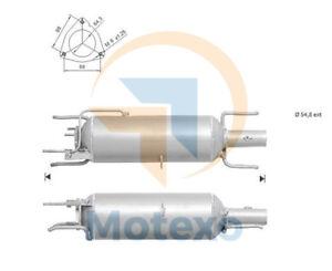 DPF SAAB 9-3 1.9TTID DPF 180 bhp Z19DTR Single pipe 12/07>