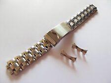 bracciale acciaio ansa curva 20 mm x vintage omega zenith longines seiko breil