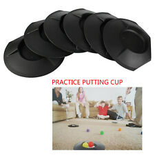 Andux 6Pcs/Set Golf Putting Cup Practice Training Aid Putting Cup Indoor/Outdoor