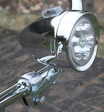 Vintage Schwinn Stingray Bicycle C6 LED HEAD LIGHT Cruiser Bike Lowrider Chopper