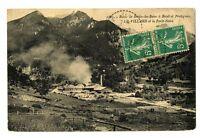 CPA 73 Savoie Le Villard et la Forêt noire Route de Brides-les-Bains à Bozel