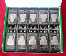 BOX OF TEN Schneider Electric RPM22F7 15A Relays+LTB+LED 120VAC, 3389119401920