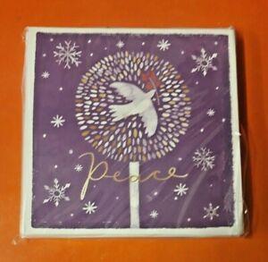 PEACE HOSPICE CARE CHRISTMAS CARDS 2021 ~ PEACE ~ 10 PACK