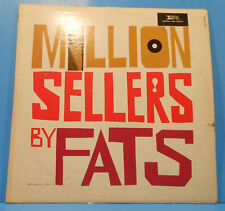 FATS DOMINO MILLION SELLERS BY FATS LP MONO 1962 GREAT CONDITION! VG+/VG!!A